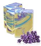 ANI SAVON ~ AZURE Lavendel I extra mild & sanft I 100g I handgefertigte Naturseife I heilend und...