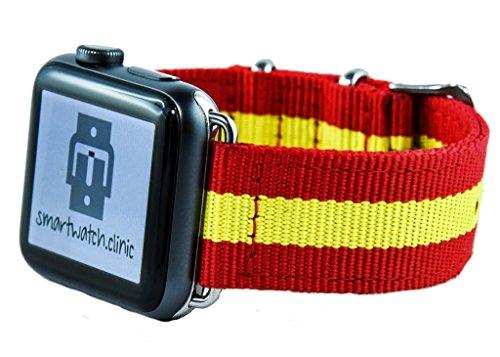 smartwatch. Clinic pulsera Spain para Apple Watch Series 1/2/3... sofor Tiger Prio Envío.