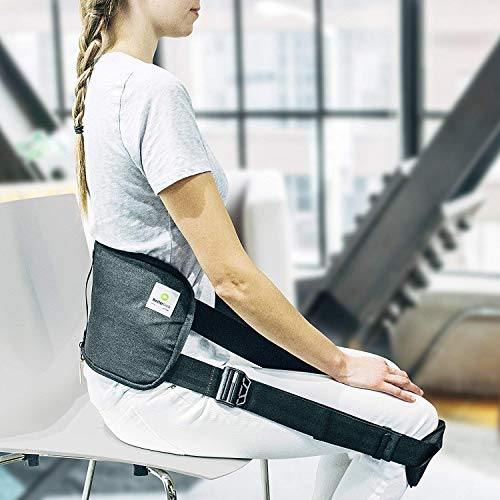 BetterBack® Correct Back Posture While Sitting (Seen On Shark Tank, Doctor Recommended for Back Pain – Makes Every Chair Ergonomic – Lumbar Support, Adjustable Straps)