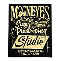 ムーンアイズ(MOONEYES) Signs & Pinstriping Studio ステッカー ブラック DM-190
