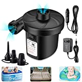 Air Mattress Pump for Inflatables, Quick Fill Inflator Deflator Air Pump Perfect for Outdoor Camping...