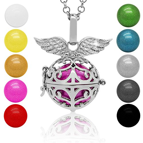 SoulCats sonar Bola ángel llama bola colgante ángel campanas amuleto