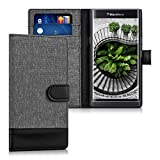kwmobile BlackBerry Priv Hülle - Kunstleder Wallet Case