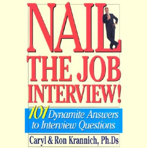 Nail the Job Interview audiobook cover art