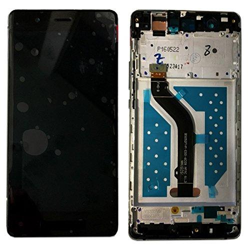 Display LCD Komplett Einheit mit Rahmen für Huawei Ascend P9 Lite Reparatur Schwarz + Werkzeug Opening Tool