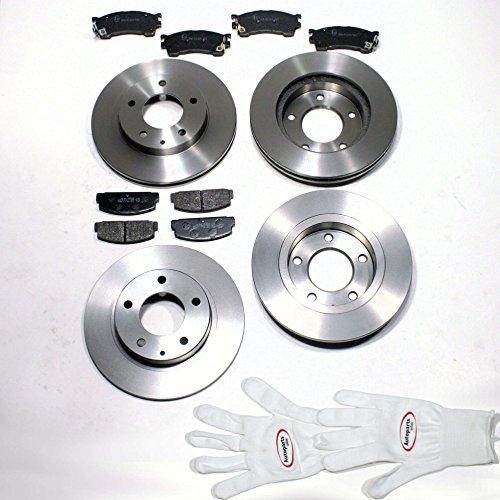 Autoparts-Online Set 60002648 Bremsscheiben/Bremsen + Bremsbeläge für vorne + hinten