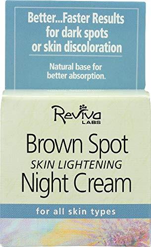 Reviva Labs (NOT A CASE) Brown Spot Skin Lightening Night Cream