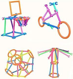 لعبة تعليمية تتكون من عصي بلاستيكية يمكنك تركيبها بنفسك