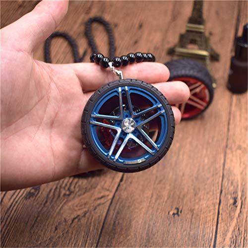 Verzierungsautoradschlüsselring-Rückspiegelanhänger, die keychain für Autoschlüsselanhänger des hängenden Metalls hängen, A