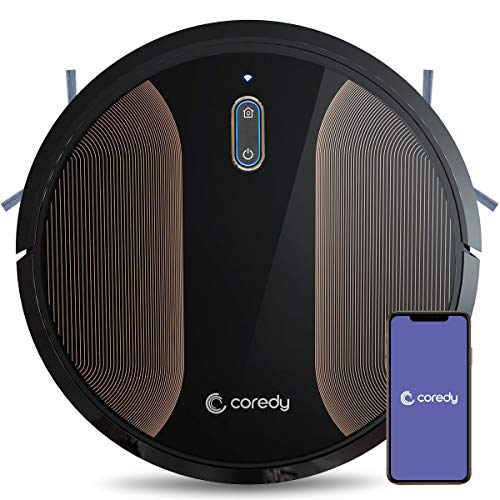 Coredy R580 Robot Vacuum Cleaner, Wi-Fi, App Controls, Works With Alexa