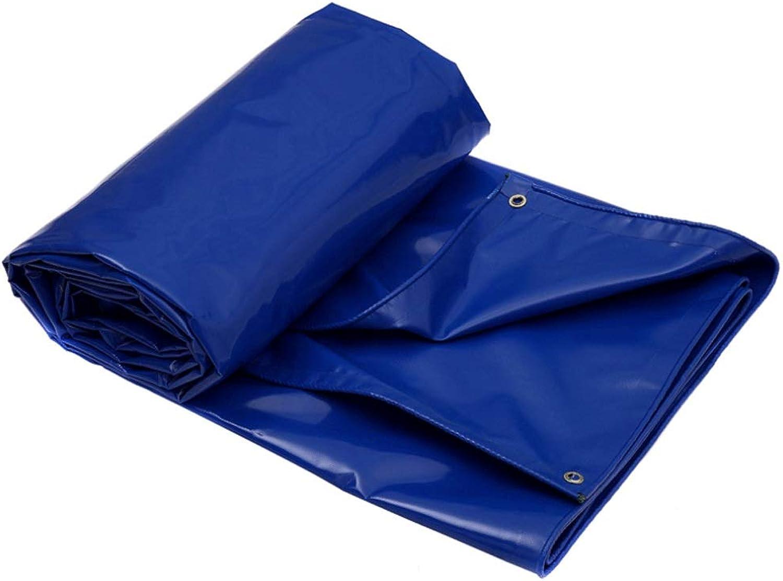 HDELH Canvas Tarps Lightweight Outdoor Tarp Sonnenschutz Sonnenschutz Oxford Cloth UV-Bestendig Anti-Korrosions-Schrumpfung Prvention Camping Zelt (Farbe   C, Größe   6×4 Meters)
