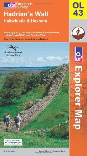 OS Explorer map OL43 : Hadrian's Wall