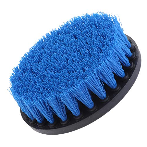 Find Bargain Baoblaze 1Pc Tile Grout Drill Brush Power - Blue Medium Brush 5inch