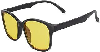 Aiweijia Blue Light Blocking Glasses Computer Glasses Anti-UV Anti-fatigue Retro Clear Lens Glasses