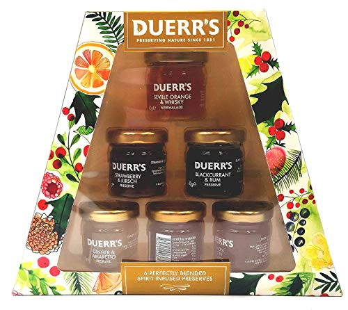 Duerr's Spirit Infused Jams & Marmalades Gift Set - Pack of 6