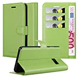 Cadorabo Book Case works with HTC ONE M10 in MINT GREEN -