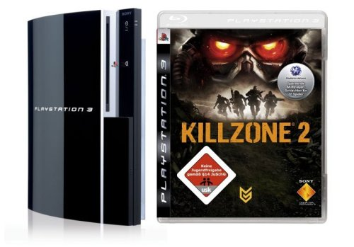 PlayStation 3 - Konsole 80 GB inkl. Dual Shock 3 Wireless Controller + Killzone 2
