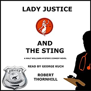 Lady Justice and the Sting audiobook cover art