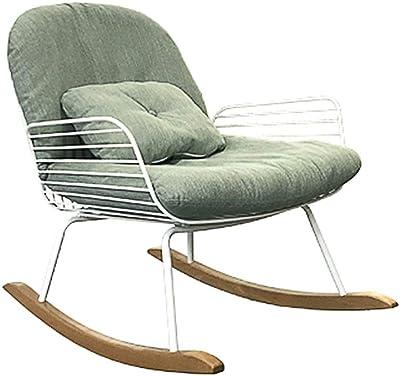 LIXIONG Outdoor Garden Relax Rocking Chair Indoor Armchairs