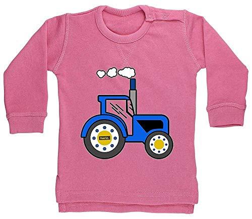 Hariz - Suéter para bebé, diseño de tractor, color azul Algodón de...