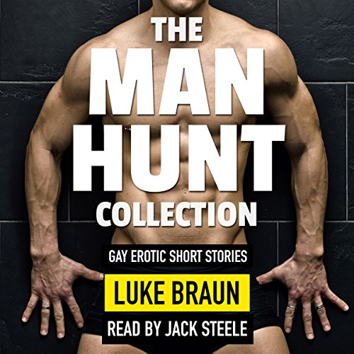 The Man Hunt Collection audiobook cover art
