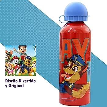 SKYLINE Bouteille d'eau pour enfants 500 ML, bouteille en aluminium pour enfants, thermique, avec couvercle hermétique, sans BPA, à emporter à l'école, au parc, au sport, etc.