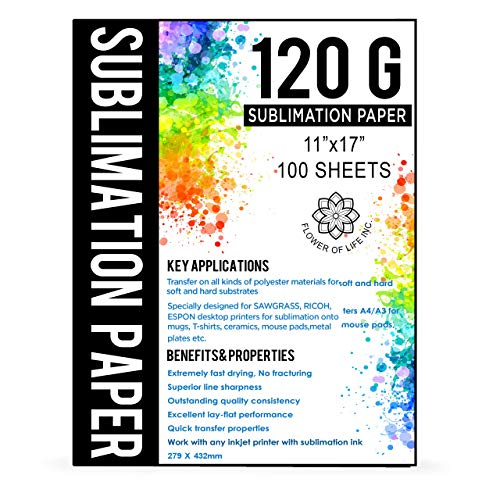 Sublimation Paper Size A3 11x17 Inches -...