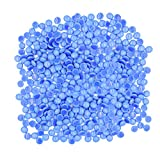 Flat Glass Marbles for Vases - 5 LB Blue Decorative Stone Beads for Vases, Crafts, Colored Rocks Table Scatter, Aquarium and Fish Tank Pebbles, Party Centerpieces, Gem Décor, Mosaics, Floral Displays