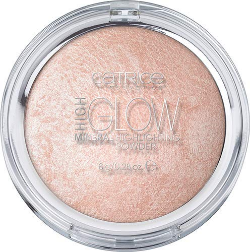 Catrice High Glow Mineral Highlighting Powder, Nr. 010 Light Infusion, nude, für Mischhaut, für trockene Haut, für unreine Haut, schimmernd, vegan, Nanopartikel frei, ohne Parfüm (8g)