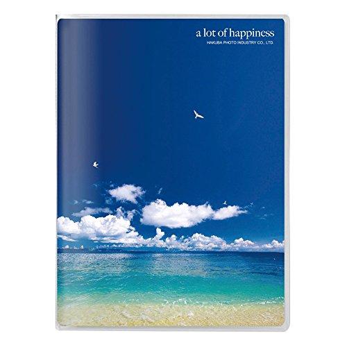 HAKUBA アルバム PポケットアルバムNP ポストカードサイズ 20枚 海と鳥 APNP-PC20-UTT
