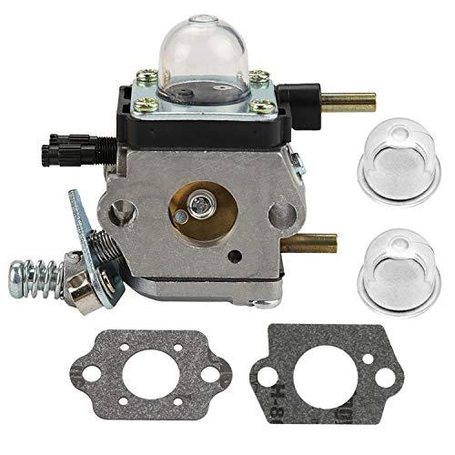 Mannial C1U-K17 C1U-K27 Carburetor Carb fit Echo Mantis Tillers Zama C1U-K27A C1U-K27B C1U-K46 C1U-K54 C1U-K54A C1U-K82 with Gasket & Primer Bulb