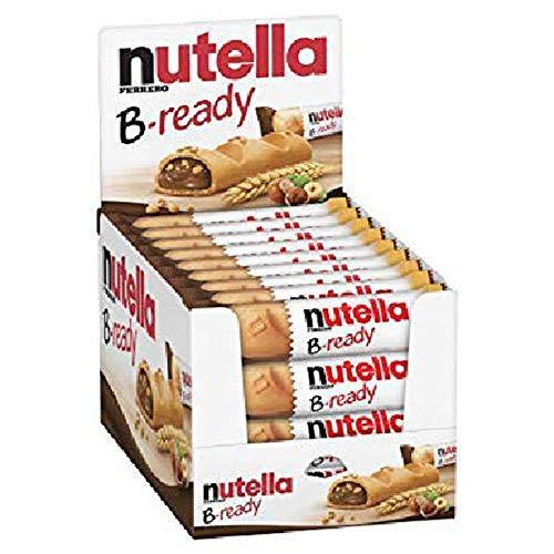 Nutella B-ready Biscoitos Wafer Com Creme Nutella kit c/ 36
