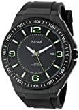 Pulsar Men's PS9227 Analog Display Japanese Quartz Black Watch