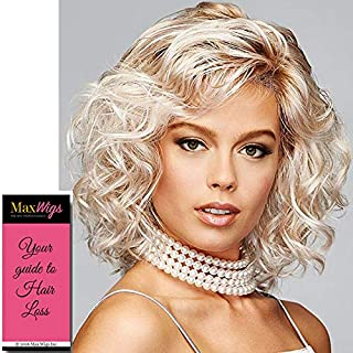 Curl Up Wig Color GL18-23 TOASTED PECAN - Gabor Wigs 9.5