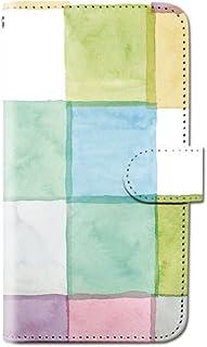 CANCER by CREE 手帳型 ケース FREETEL SAMURAI MIYABI 水彩 イラスト パターン スマホ カバー dy001-00259-01 FREETEL miyabi(雅):M