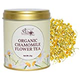 The Indian Chai - Organic Chamomile Tea in Tin Container for Sleep, Stress and Anxiety, Caffeine...