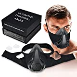 Training Mask máscara3.0 24 Niveles De Respiración Ajuste De Elevación Ajustable Mascarilla De Altitud Máscara De Resistencia A La Respiración Hipóxica Para Gimnasio, Cardio, Fitness, Correr A +