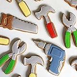 songqin Molde de galletas 6-9PC/Set, DIY Kids Cake Chocolate Mold Acero Inoxidable Suministros de Hornear Accesorios de Cocina Herramienta de Reparación/Tema de Navidad Moldes Creativos