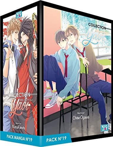 Boy's Love Collection - Pack n°19 - Manga Yaoi (5 tomes)