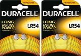 Pila de botón LR54, AG10, LR54, LR1130, 189, RW89, 2 Blister