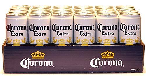 24 Dosen Corona Extra a 0,33L Beer Bier...
