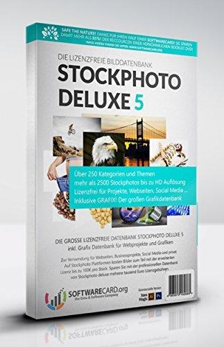 Stockphoto deluxe 5! Die lizenzfreie Bilddatenbank aus der Box. Kommerzielle Version mit mehr als 2500 Stockphotos für Internet, Social Media, Webdesigner & Grafiker. (Limitierte USB-Stick-Box)