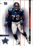 2003 Leaf Rookies & Stars Football Rookie Card #166 Osi Umenyiora. rookie card picture