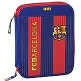 Futbol Club Barcelona - Plumier Doble Grande 56 Piezas (SAFTA 411629056)