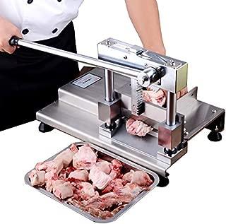 Nueva máquina de corte manual de huesos de guillotina de huesos tubular para máquina de cortar, trotters, cortador de pollo y hueso de pato, máquina de sierras de carne para restaurante, cocina