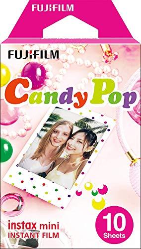 Fujifilm Instax Mini Pellicola, Motivo Candy Pop, Confezione da 10 Pezzi