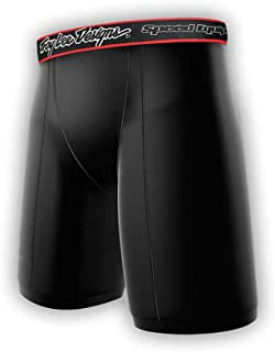 Troy Lee Designs Shock Doctor Women's 1600 Base Layer Protective Shorts (Small, Black)