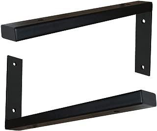 RNL Soporte de estante de acero inoxidable soporte de tri/ángulo de lavabo con gran espacio de ahorro//Plata // 350mm soporte de partici/ón flotante de estante de pared