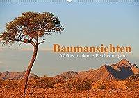 Baumansichten - Afrikas markante Erscheinungen (Wandkalender 2022 DIN A2 quer): Bemerkenswerte Baumgestalten entdeckt auf einer Reise durch Namibia und Botswana (Monatskalender, 14 Seiten )