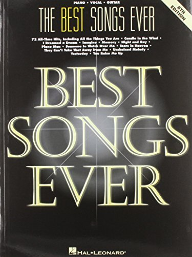 By Author The Best Songs Ever, 8th Edition (Piano/Vocal/Guitar Songbook) (8th Edition)